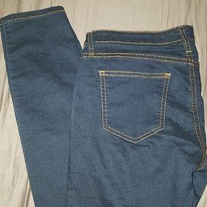 Forever 21 Jeans - FOREVER 21 Super Stretch Skinny Jeans Dark Blue